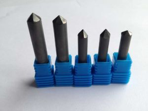PCD Bottom Flat Stone Engraving Cutters pictures & photos