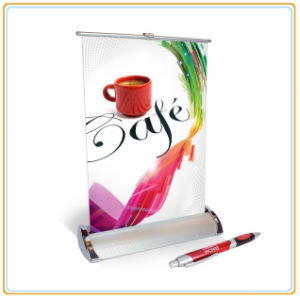 Best Selling Mini Single Roll up Banner Stand pictures & photos