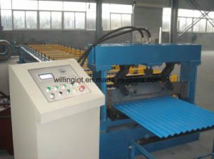 High Quality  Steel    Roofing and Wall Roll Forming Machine Line pictures & photos