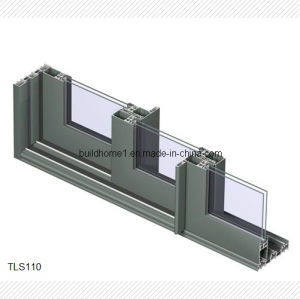 Hidden Rollers Aluminium Sliding Window for Houses pictures & photos