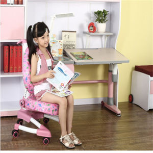 Pink Adjustable Commercial School Desk Daycare Furniture pictures & photos