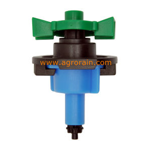 360 Degree Full Circle up-Right Type No Bridge Mini Sprinkler Red Nozzle 80L/H pictures & photos