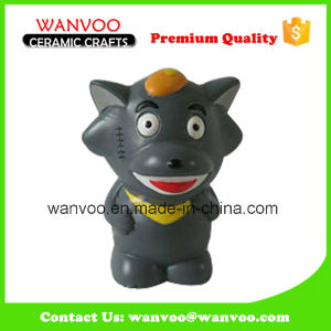 Hand Painting Ceramic Wolffy Promotional Gift for Home Decor pictures & photos