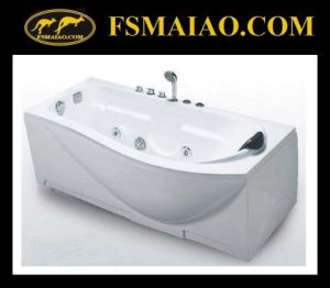 Free Style Unordinary Acrylic Massage Bathtub (BA-8725) pictures & photos