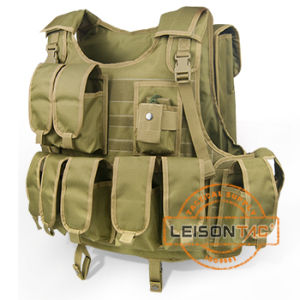 Camouflage Military Bulletproof Vest with Pouches Passed USA HP Lab Test pictures & photos