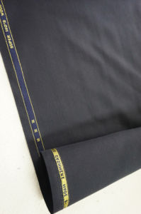 Dark Blue Serge Wool Fabric pictures & photos