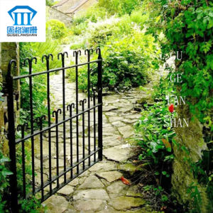 High Quality Crafted Wrought Iron Single Gate 022 pictures & photos