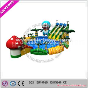 Memory Carton Inflatable Amusement Water Park for Sale