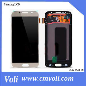 Top Selling Mobile Phone LCD for Samsung Galaxy S6 pictures & photos