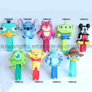 Hot Sell Cartoon Earphone Cable Holder, Cable Winder pictures & photos