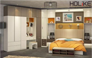 2016 Holike New Designed Bedroom Sets for Department Project