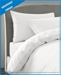 Solid-Style: Pure White Cotton Bed Sheet pictures & photos