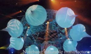 Hot Sell Decoration Inflatable Light Balloon with LED Light