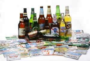 73GSM Metalized Paper for Beer Label Making pictures & photos