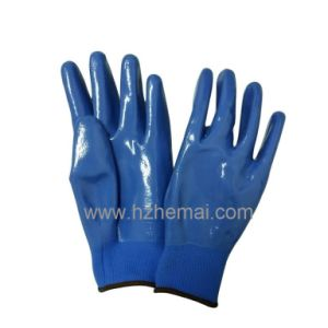 Nitrile Gloves Fully Dipped Garden Gloves Work Glove pictures & photos