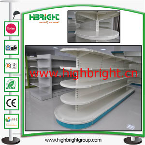 Three Sides Corner Display Gondola Shelf for Supermarket pictures & photos