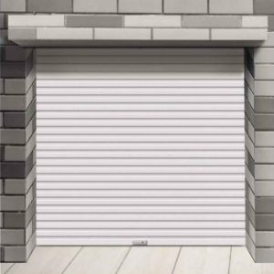 China Automatic Steel Insulated Security Shutter Door Prices with Ce Certificate (HF-J03) pictures & photos
