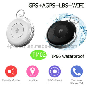Nano Card Mini GPS Tracker with Geo-Fence and Sos Pm02 pictures & photos