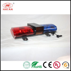 Mini Rotating Halogen Security Lightbar Short Traffic Warning Light pictures & photos