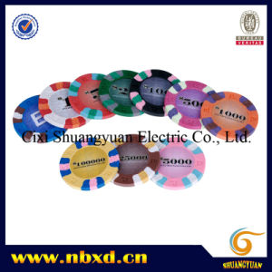 9.5g 3color Pure Clay E Style Sticker Chip (SY-C13) pictures & photos