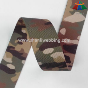 Custom 1.5 Inch Camouflage Printed Webbing pictures & photos