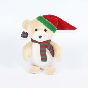 Plush Cap Bear Christmas Ornament pictures & photos