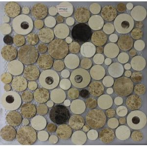 New Model Glazed Porcelain China Light Emperador Manufacture Flooring Tile for Sht549