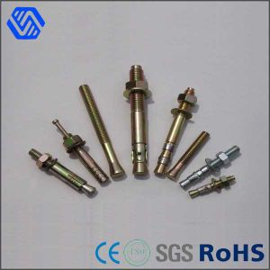 Carbon Steel Zinc Plated Anchor Bolt pictures & photos