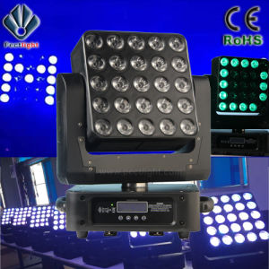 5X5X15W LED Pixel Stage Beam Moving Head Light pictures & photos