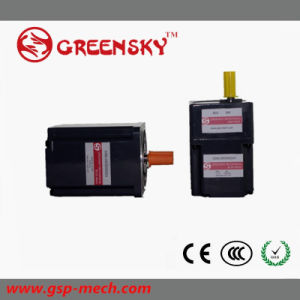 80/120/180W Brushless DC Geared BLDC Motor with Square Gearbox pictures & photos