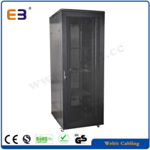 Commercial Type Network Cabinet with Front Hexagonal Perforated Door pictures & photos