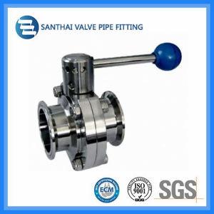 Stainless Steel 304/316 Pulling Hanlde Sanitary Valve