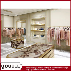New Arrival Luxury Shopfitting, Custom Store Fixture, Clothes/Hangbag Store Furniture pictures & photos