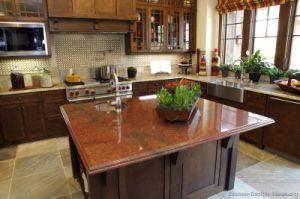 Dark Walnut Kitchen Cabinets (dw62) pictures & photos