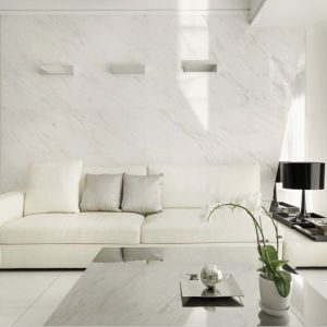 Polished White Artificial Interior Wall Stone Decoration pictures & photos