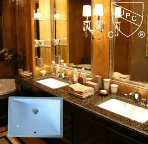 Sanitary Ware Undermount Bathroom Ceramic Sink with Cupc (SN018) pictures & photos