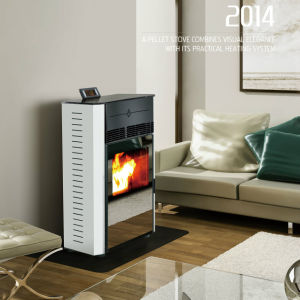 Factory Direct Sales Wood Pellet Stoves (CR-08T) pictures & photos