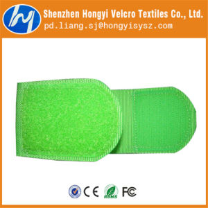 Nylon Gree Soft-Hook & Loop Velcro Cable Tie pictures & photos