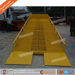 Dock Lever Dock Ramp Mobile Container Loading Ramp with Ce pictures & photos