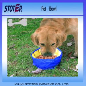 High Class Oxford Outdoor Portable Feeding Pet Bowl pictures & photos