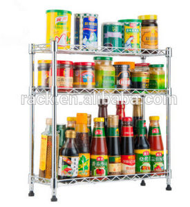 Cheap Multi-Functional Ikea Kitchen Spice Shelf for Sale, NSF Approval pictures & photos