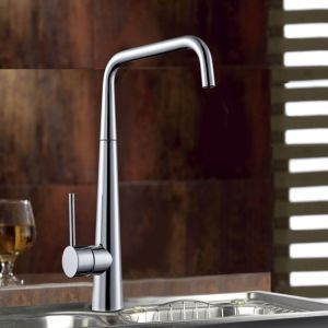 Single Handle Water Saving Brass Kitchen Sink Tap