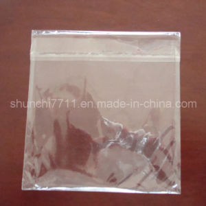 BOPP Packing Bag with Adhesive Tape (10cm*10cm*40um) pictures & photos