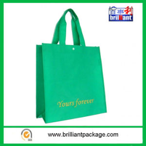 Wholesale Green Nonwoven Shopping Bag pictures & photos