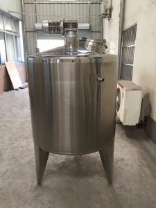 Steam Jacketed Tank Double Layred Tank Single Wall Tank Price pictures & photos