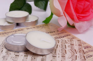 Organic Pure Soy Wax Tealight Candle Set pictures & photos