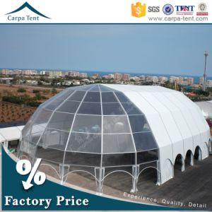 Promotional 25X40m Wind Resistant Pavilion, Transparent Polygon Tent for Exhibition pictures & photos