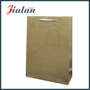 UV Printing High Quality Cheap Customize Logo Brown Paper Bag pictures & photos