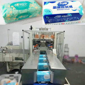 Handkerchief Tissue Paper Packing Machine pictures & photos