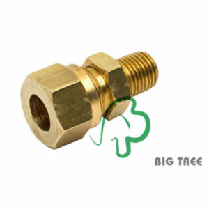 Brass Compression Fitting NPT Thread 3/8 pictures & photos